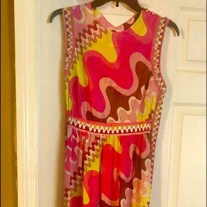 Vintage Couture Emilio Pucci full length dress